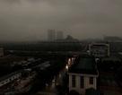 Miền Bắc mưa giông lớn, trời Hà Nội tối sầm giữa ban ngày