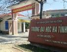 Chủ tịch tỉnh chỉ trích lãnh đạo Trường ĐH Hà Tĩnh buông lỏng quản lý cơ sở vật chất