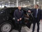 Siêu xe chở Tổng thống Putin xuất hiện ấn tượng tại nhà máy Mercedes