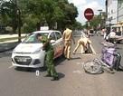 Đã xác định tài xế taxi gây tai nạn giao thông rồi bỏ trốn