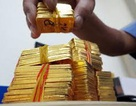 Giá vàng sụt giảm về vùng thấp nhất trong 4 tháng qua