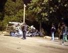 Ô tô va chạm xe tải chở rau, 5 người thương vong