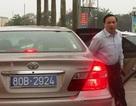 """Nhiều """"chuyện lạ"""" về chiếc xe Camry 2 biển số xanh chở lãnh đạo Ninh Bình"""