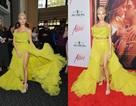 Pia Mia rực rỡ với váy vàng kiêu sa