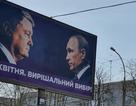 Ảnh ông Putin bất ngờ xuất hiện trong chiến dịch tranh cử tổng thống Ukraine