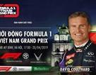 Sẽ tổ chức biểu diễn đua xe F1 tại SVĐ Mỹ Đình vào ngày 20/4 tới