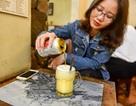 Món lạ Hà thành: Độc đáo món bia trứng khiến thực khách thích mê