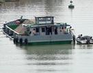 Va chạm với xà lan, ghe chở 115 tấn gạo chìm xuống sông Hậu