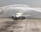 Xịt vòi rồng chào mừng, sân bay Dubai vô tình làm hỏng máy bay Ả rập Xê út