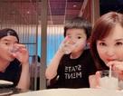 Vợ chồng Lý Minh Thuận - Phạm Văn Phương khoe ảnh gia đình hạnh phúc