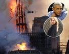 Người nổi tiếng đau buồn khi nghe tin nhà thờ Đức Bà bị cháy