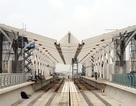 Hình ảnh tuyến đường sắt mỗi năm làm được 1 kilomet Nhổn - Ga Hà Nội