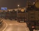 Xe quân sự Nga rầm rập đổ về Moscow