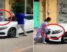 Đập phá xe ô tô vì đỗ trước cửa nhà mình có thể bị xử lý hình sự