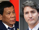 """Tổng thống Philippines dọa """"tuyên chiến"""" với Canada vì rác thải"""