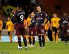 """Wolves 3-1 Arsenal: """"Pháo thủ"""" nhanh chóng bị """"thổi bay"""""""