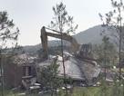 Sóc Sơn đang phá dỡ các công trình vi phạm trên đất rừng