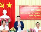 Chủ tịch Quốc hội trả lời cử tri về sức khỏe của Tổng Bí thư Nguyễn Phú Trọng
