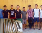 Bắt tạm giam 8 đối tượng đuổi chém nhau trên đường
