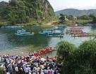 Rộn ràng Hội thi cá trắm và đua thuyền sông Son