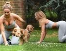 Kimberley Garner quyến rũ đi tập thể dục