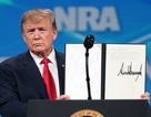 Ông Trump tuyên bố rút Mỹ khỏi Hiệp ước buôn bán vũ khí quốc tế