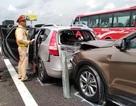 8 ô tô tông nhau liên hoàn, cao tốc TPHCM - Trung Lương kẹt cứng