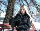 """Vẻ đẹp hút hồn của những """"bông hồng thép"""" cảnh sát Nga"""