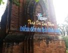 Khoan tháp Chăm treo bảng quảng bá du lịch: Giám đốc Bảo tàng Bình Định nói gì?