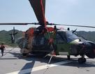 Dàn trực thăng hiện đại trên tàu đổ bộ lớn nhất Hải quân Úc đang ở Cam Ranh