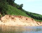 """Vụ dân dàn """"trận địa"""" cọc tre kín mặt sông chống tàu cát: Doanh nghiệp khai thác vượt độ sâu!"""
