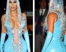 Choáng váng với váy bó nghẹt thở của Kim Kardashian