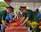 Đón 43 hài cốt liệt sĩ hy sinh tại Lào về quê hương