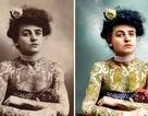 """Vẻ đẹp của những bức ảnh cổ được """"tô màu"""""""