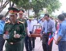 Lễtruy điệu và an táng 17hài cốt liệt sỹ hy sinh tại Lào
