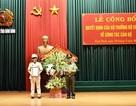 Phó Giám đốc Công an Vĩnh Phúc được bổ nhiệm làm Giám đốc Công an Ninh Bình