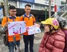 """Hà Nội: Sinh viên xuống đường truyền thông điệp """"nói không"""" với túi nilon"""