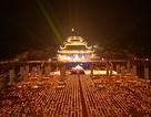 Lễ hội hoa đăng cầu nguyện hòa bình thế giới tại chùa Tam Chúc