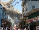 Cháy lớn 7 xưởng gỗ rộng 2.000 m2 tại Hà Nội