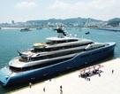 Cận cảnh siêu du thuyền 150 triệu đô la của tỷ phú người Anh tại Quảng Ninh