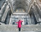 Nhật Tinh Anh chịu lạnh quay MV tại Đức