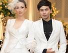 Hoa hậu Paris Vũ diện đầm trắng tinh khiết làm vedette ở show thời trang cưới