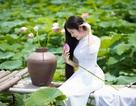 """""""Công chúa tóc mây"""" phiên bản Việt khoe sắc bên sen"""