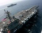 Tàu chiến Mỹ tập trận rầm rộ sát Iran giữa lúc căng thẳng