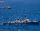 Tàu chiến Mỹ áp sát bãi cạn tranh chấp trên Biển Đông