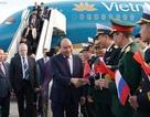 Thủ tướng đến Saint Petersburg, bắt đầu chuyến thăm chính thức Liên bang Nga