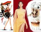 Xích lô, chọi trâu… được thiết kế cho Hoàng Thùy để mang đến Miss Universe 2019?