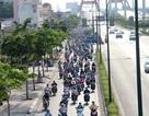 TPHCM: Tăng thời gian xe máy chạy vào làn ô tô trên 2 tuyến đường huyết mạch