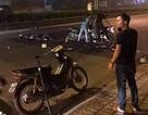 Khởi tố vụ án xe máy kẹp 3 tông xe cảnh sát khiến một Đại uý công an tử vong