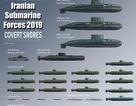 Sức mạnh đáng gờm của lực lượng tàu ngầm Iran